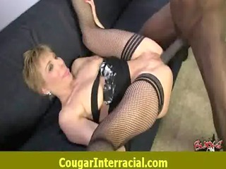 hot cougar milf likes to fuck black monster cock