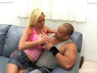 breasty d like to fuck carson - interracial bang