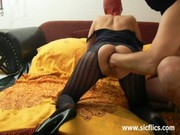 destroying the wifes arse and snatch
