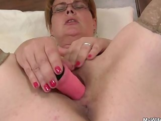 he finds her masturbating and suggests his cock