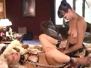 mature lesbo thraldom and spanking