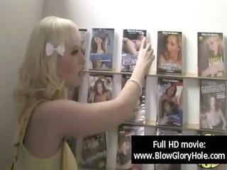 gloryhole - hot breasty honeys love sucking knob