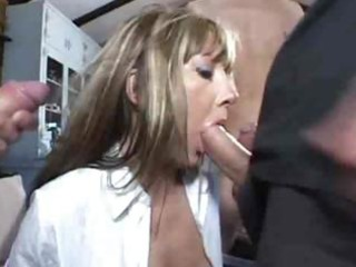 british milf triple penetration