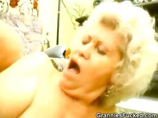 lewd threesome grannies