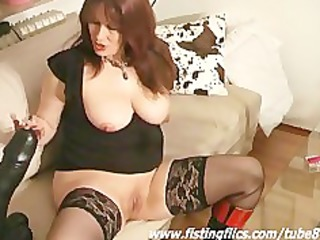 monster sex toy fucking dilettante bitch
