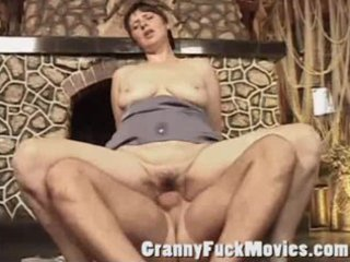 impure mature whore gets a hard cock in her old
